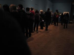 Van gogh exhibition 1 - royal academy