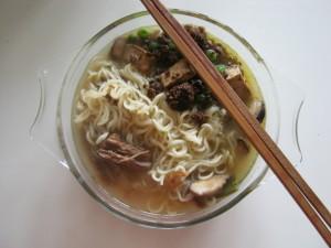 instant noodles art