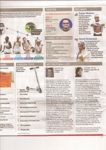 my cultural life on the Observer